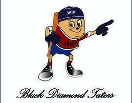 Nro 97 kilpailuun Baseball Team Logo käyttäjältä shaulatvw