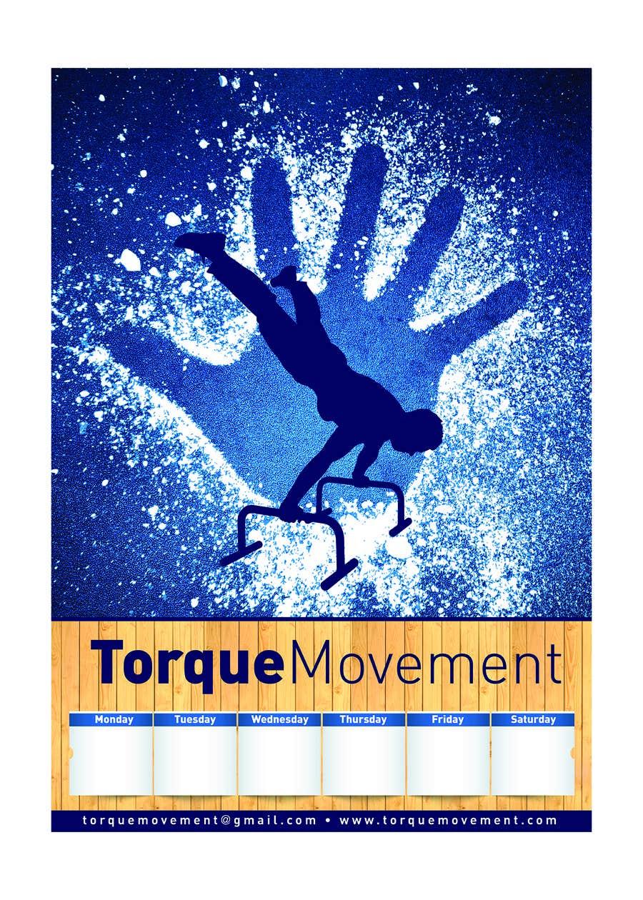 "Intrarea #13 pentru concursul ""Design a Flyer, Poster and T-shirt for TorqueMovement"""