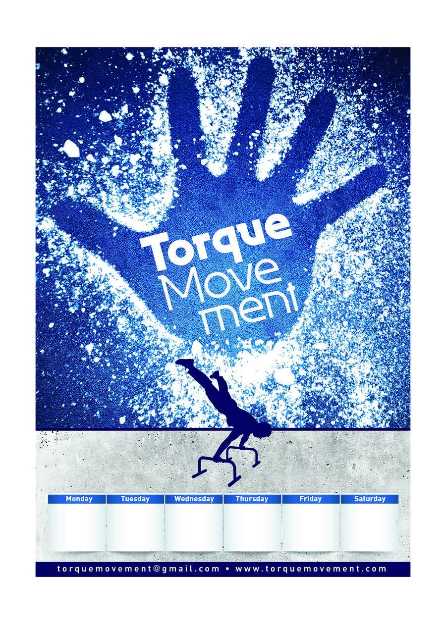 "Intrarea #15 pentru concursul ""Design a Flyer, Poster and T-shirt for TorqueMovement"""