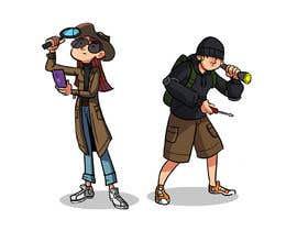 RRamirezR tarafından Design of 2 detective characters için no 31