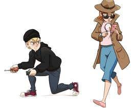 Greenkun tarafından Design of 2 detective characters için no 27