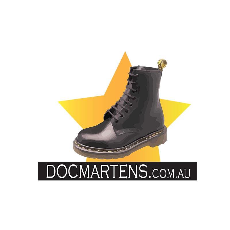Kilpailutyö #35 kilpailussa Design a Logo for Dr Martens online store