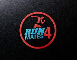 #93 for RUN 4 MATES LOGO af mahabubhossain13