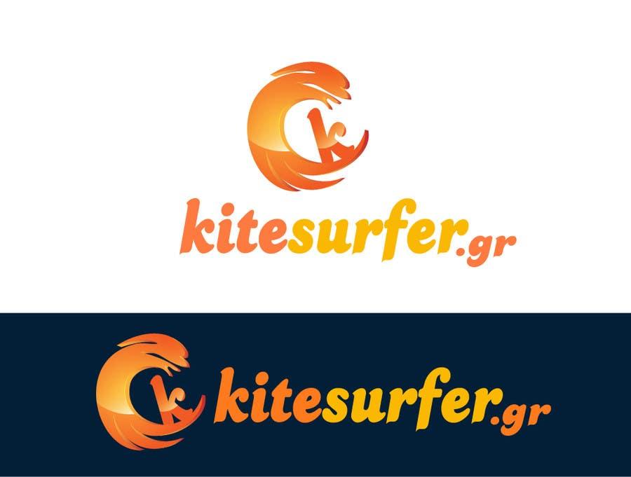 Konkurrenceindlæg #73 for Logo Design for kitesurf website