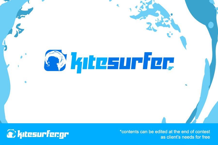 Inscrição nº                                         56                                      do Concurso para                                         Logo Design for kitesurf website