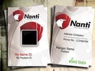 Graphic Design Inscrição do Concurso Nº8 para ID Badge for Nanti System
