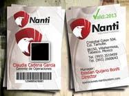 Graphic Design Inscrição do Concurso Nº19 para ID Badge for Nanti System