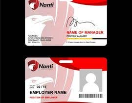 nº 16 pour ID Badge for Nanti System par Qomar