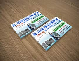 nº 15 pour Business Card Deign for Heating & Air Conpany par ArtBrain