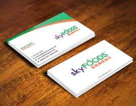Nro 6 kilpailuun Design some Business Cards for an e-commerce supermarket käyttäjältä gohardecent