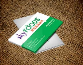 Nro 17 kilpailuun Design some Business Cards for an e-commerce supermarket käyttäjältä shohaghhossen
