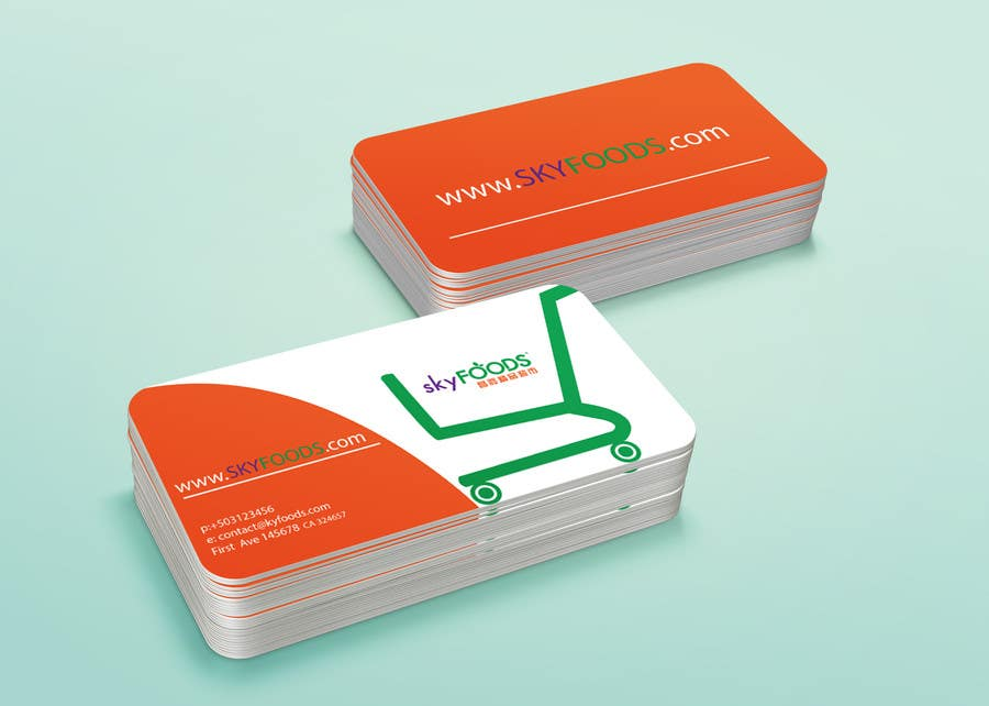 Entry #3 by francinifdez for Design some Business Cards for an e ...
