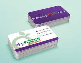 #21 for Design some Business Cards for an e-commerce supermarket by francinifdez
