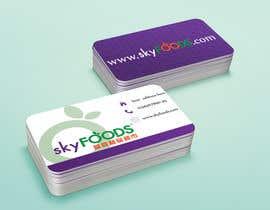 Nro 21 kilpailuun Design some Business Cards for an e-commerce supermarket käyttäjältä francinifdez