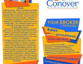 #72 for Design a Brochure for Conover Consulting by ammarafarooq