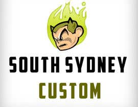 #5 for Logo Design for South Sydney Customs (custom auto spray painter) af simonpolak