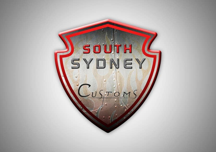 Inscrição nº 18 do Concurso para Logo Design for South Sydney Customs (custom auto spray painter)