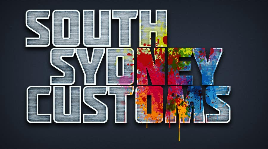 Proposition n°                                        27                                      du concours                                         Logo Design for South Sydney Customs (custom auto spray painter)