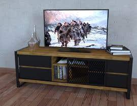 fuadasha21 tarafından Cabinet TV 3D model - LOFT FURNITURE Steel and natural OAK için no 171