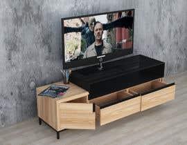 muhammedyasir27 tarafından Cabinet TV 3D model - LOFT FURNITURE Steel and natural OAK için no 174