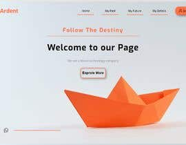 #12 cho Build the Welcome page for website | Opportunity to get contract to build full website bởi saikatsam346