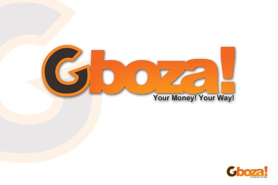 Kilpailutyö #72 kilpailussa Logo Design for Gboza!