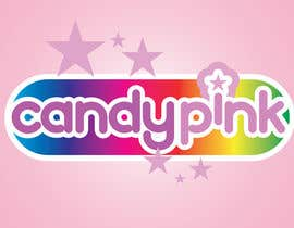 #56 para Logo Design for Candy Pink por stanbaker