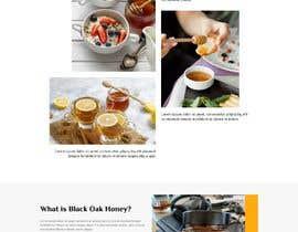 #65 cho Design a webpage for honey product bởi mdziakhan