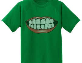 #10 for Super Basic - Design a T-Shirt for Show Your Teeth by akibjaved