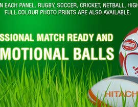 #6 for Sports Balls Banner by trubatgjoj