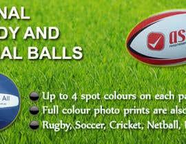 Nro 4 kilpailuun Sports Balls Banner käyttäjältä qronaldo7