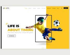 #8 cho Create and design a sports section for my website bởi syedzargham3