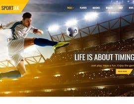 #10 cho Create and design a sports section for my website bởi syedzargham3
