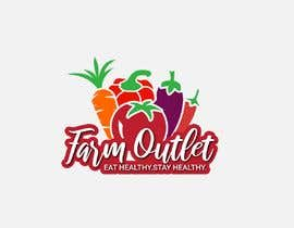 "Alisa1366 tarafından Contest - Logo for retail store ""Farm Outlet"" için no 168"