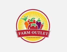 """#171 para Contest - Logo for retail store """"Farm Outlet"""" de Alisa1366"""