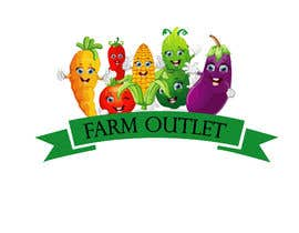 "AmzaliAbdelali tarafından Contest - Logo for retail store ""Farm Outlet"" için no 41"