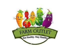 "AmzaliAbdelali tarafından Contest - Logo for retail store ""Farm Outlet"" için no 153"