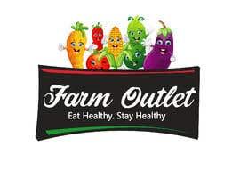 "AmzaliAbdelali tarafından Contest - Logo for retail store ""Farm Outlet"" için no 154"