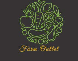 "DesigningHUB786 tarafından Contest - Logo for retail store ""Farm Outlet"" için no 161"