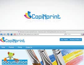nº 126 pour Logo Design for CopiNprint par tomasarad