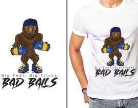 #35 cho Design for T-Shirt Hoodie (Bigfoot, altered head, broken skateboard, broken shoes) bởi satishandsurabhi