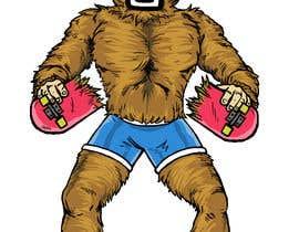 #41 cho Design for T-Shirt Hoodie (Bigfoot, altered head, broken skateboard, broken shoes) bởi nicolasusle