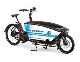 Nro 5 kilpailuun Design advertising for stickers on side of Urban Arrow bike käyttäjältä alenaavozorom