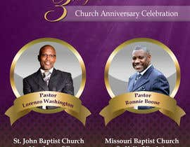 #11 for Design a church anniversary flyer -- 2 by damirruff86