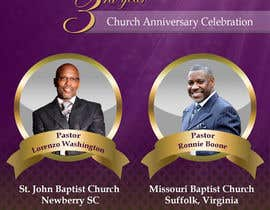 #12 for Design a church anniversary flyer -- 2 by damirruff86