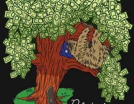#29 cho Design for a T-Shirt/Hoodie (sleeping sloth in a money tree) bởi francisvdelfin