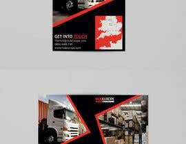 #21 untuk Design an Advertising leaflet to promote our Courier Services oleh FarooqGraphics