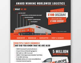 #25 for Design an Advertising leaflet to promote our Courier Services af wahdinbarjib