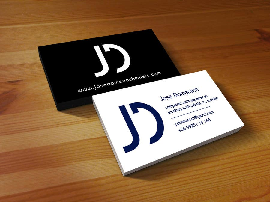 Contest Entry #54 for Logo Design and Business Card Musician