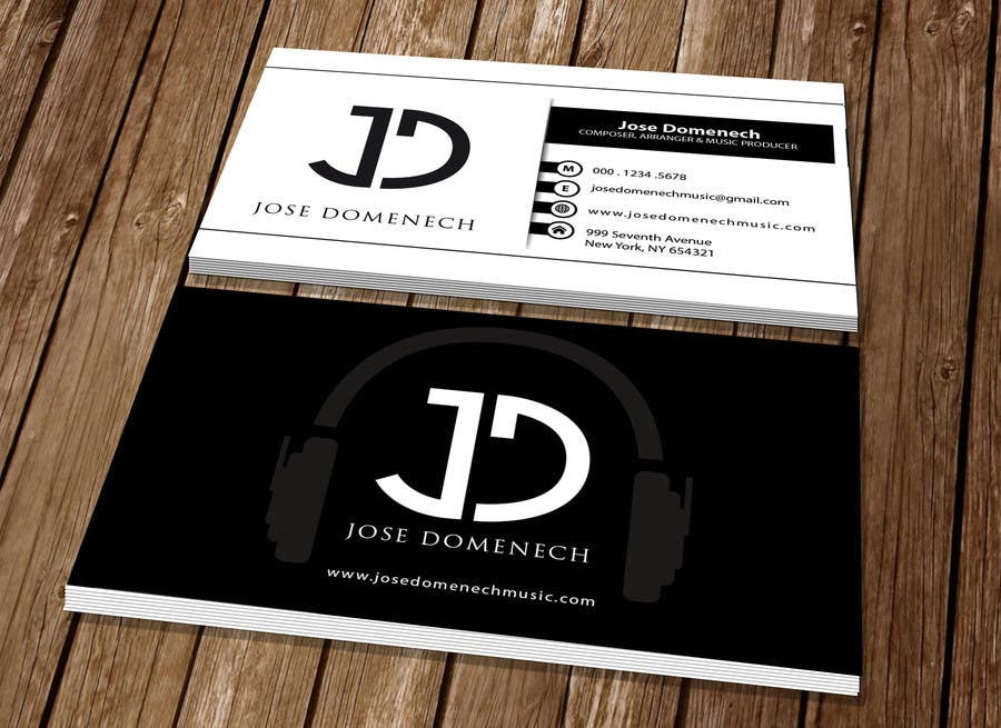 Contest Entry #65 for Logo Design and Business Card Musician